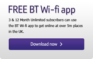 Download the  BT Wi-fi ap